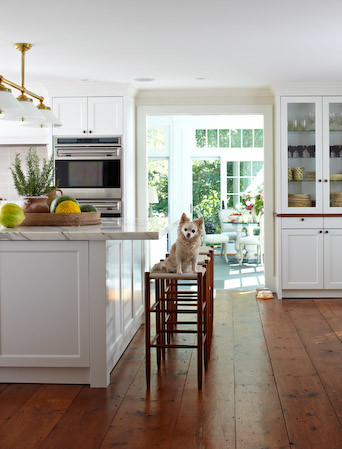 connecticut country home traditional-kitchen