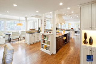 CONNECTING SPACES - Traditional - Kitchen - Boston
