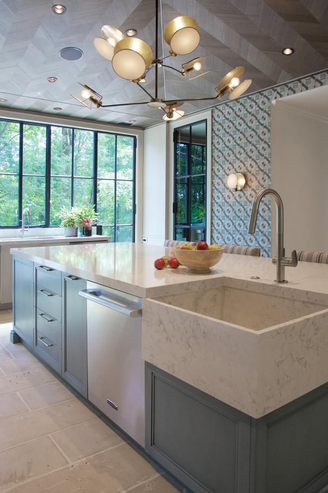 Construction Resources Farmhouse Kitchen Atlanta By Barbara Brown Photography