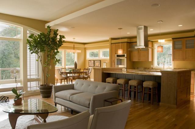 Contem-Prairie contemporary-kitchen