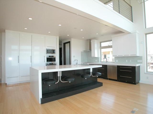 Contempary - Saratoga Springs contemporary-kitchen