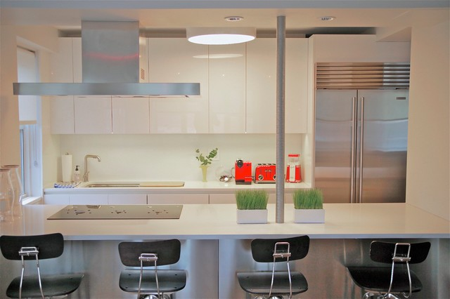 Contemporary 3 Bedroom for Kids of all Ages contemporary-kitchen