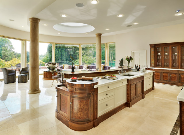 Traditional kitchen in Other.