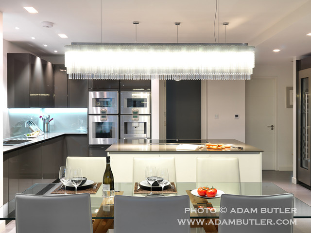 Contemporary Apartment In Hampstead Village North London Contemporary Kitchen London By
