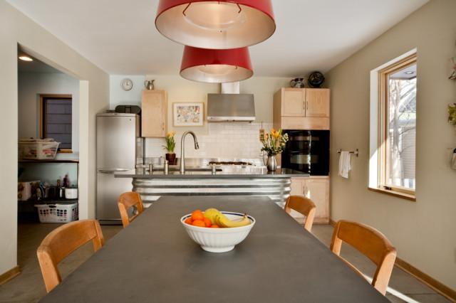 Contemporary Artistic Home Bright Artsy Design