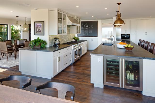 contemporary california rambler  contemporary  kitchen