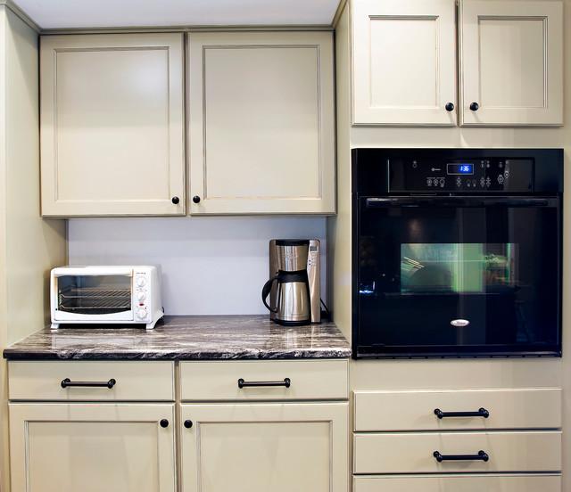 Contemporary Celadon Kitchen traditional-kitchen