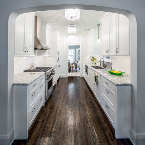 Get This Look With The Elk Lighting Optix Collection! Photo Credit:  Traditional Kitchen By