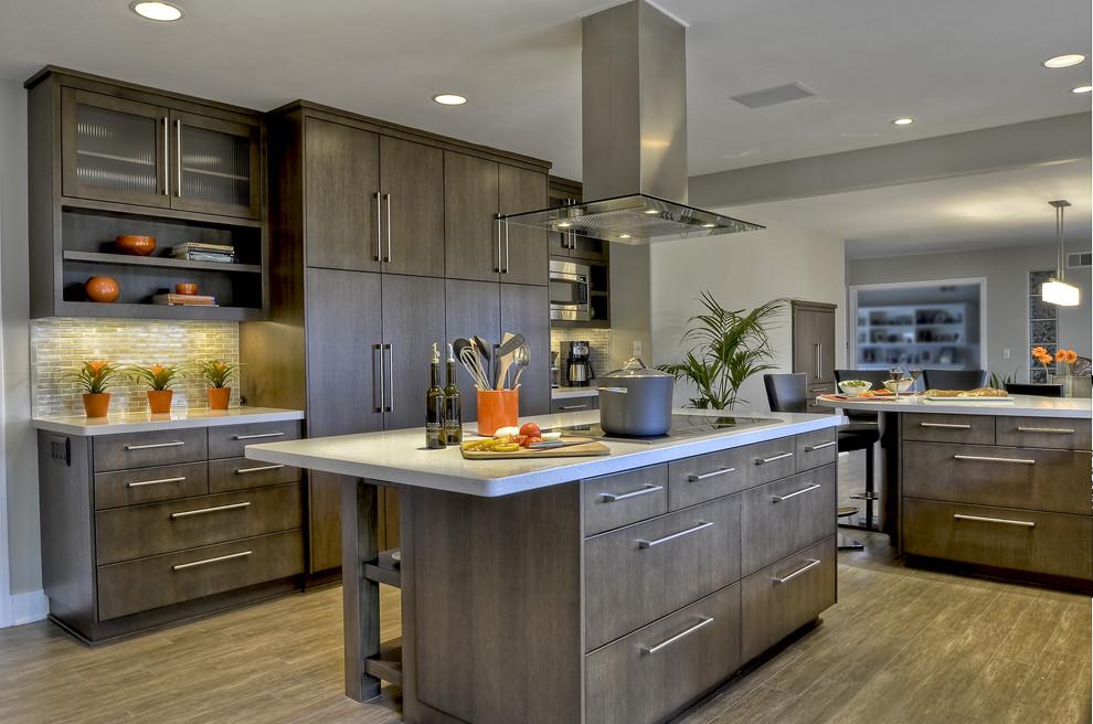 Fine Contemporary Clean Warm Kitchen Contemporary Kitchen Download Free Architecture Designs Salvmadebymaigaardcom