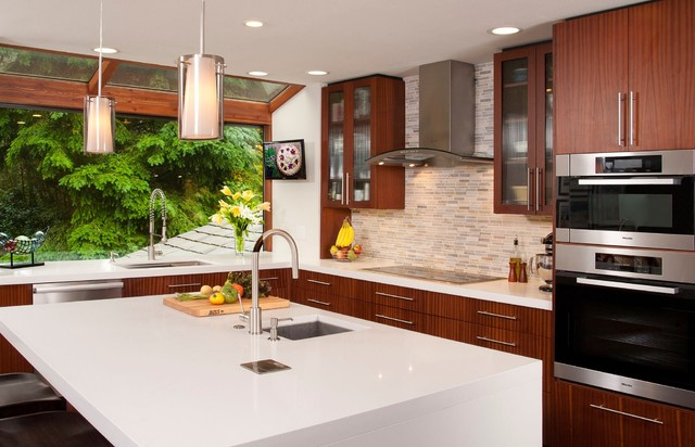 Contemporary Comfort Contemporary Kitchen Seattle By Revel Design Studio