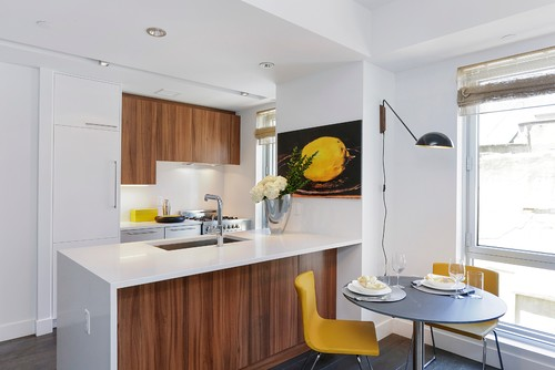 Contemporary Condo Kitchen, Two12 North 9th, Brooklyn