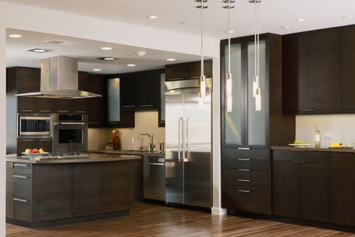Is the kitchen an 8 foot ceiling and the balance 9 foot for Kitchen design 9 foot ceilings