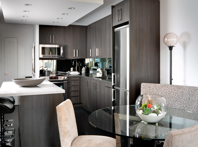 Contemporary Condo Contemporary Kitchen Other Metro