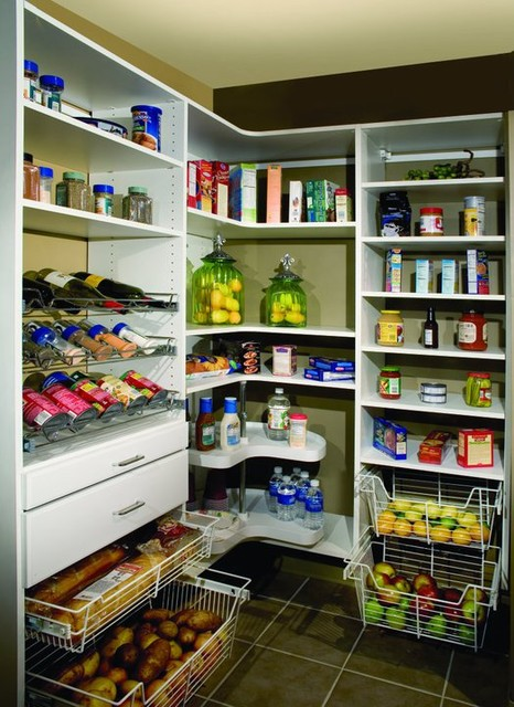 Contemporary Corner Pantry - Contemporary - Kitchen - nashville - by ...