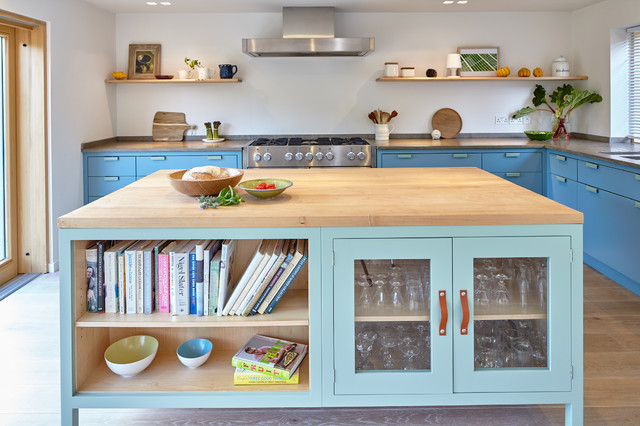 Contemporary Country House In Berkshire Contemporary Kitchen Berkshire By Lucy Crockett