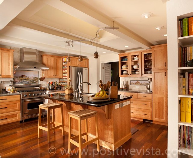 Contemporary Craftsman Kitchen Design Traditional Kitchen Other Metro By Linda Paul
