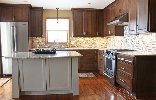 Contemporary Craftsman Kitchen - Contemporary - Kitchen - minneapolis - by Dura Supreme Cabinetry