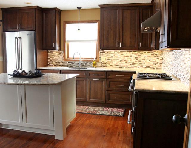 Contemporary Craftsman Kitchen Remodel contemporary-kitchen