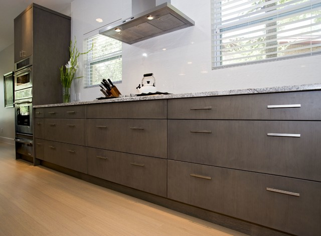 Contemporary Dark Grey Kitchen amp Bath