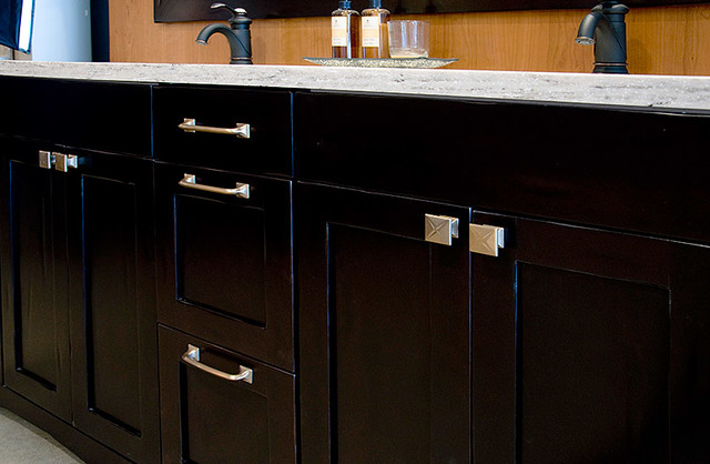 Contemporary Decorative Drawer Pulls + Cabinet Knobs By Schaub contemporary-kitchen