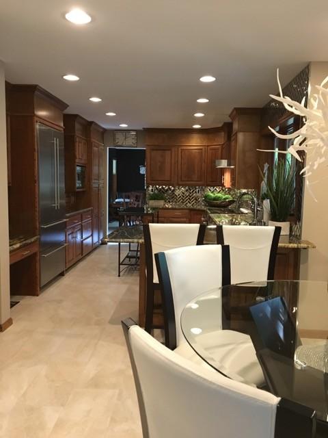 Contemporary Dream Kitchen Remodel