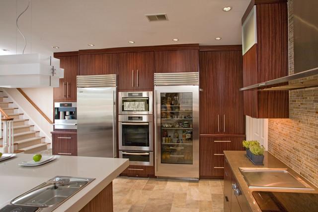 Contemporary dream kitchen contemporary kitchen for Dream kitchen appliances
