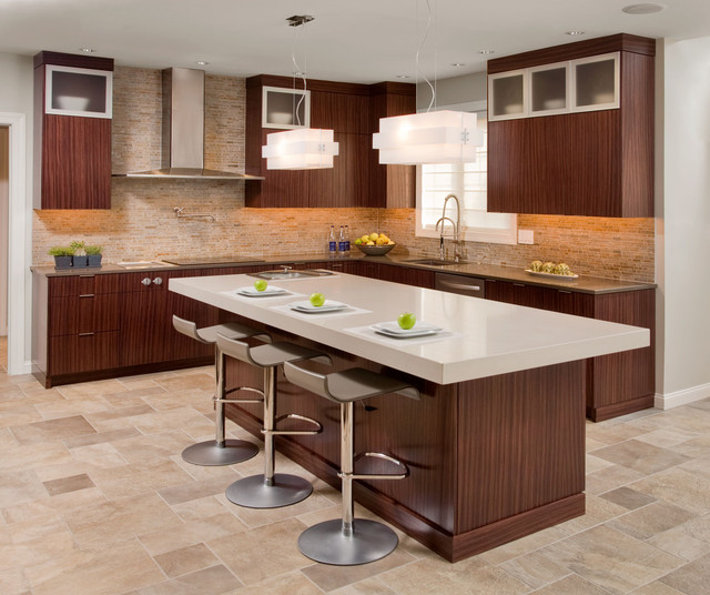 Dream Kitchen Modern: CONTEMPORARY DREAM KITCHEN