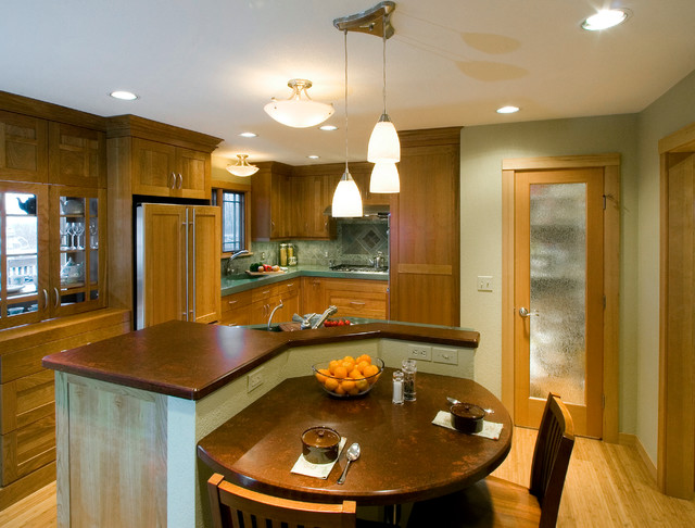 Contemporary eat in kitchen island contemporary Eat in kitchen island