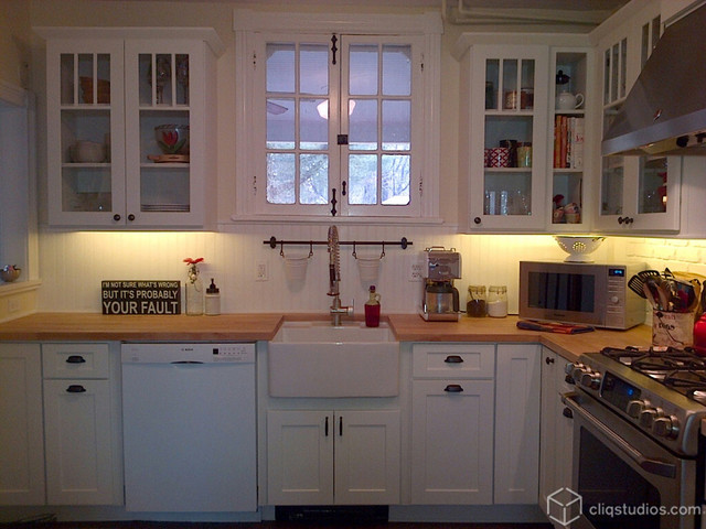 Modern Farmhouse Kitchen Cabinets contemporary farmhouse kitchen - traditional - kitchen
