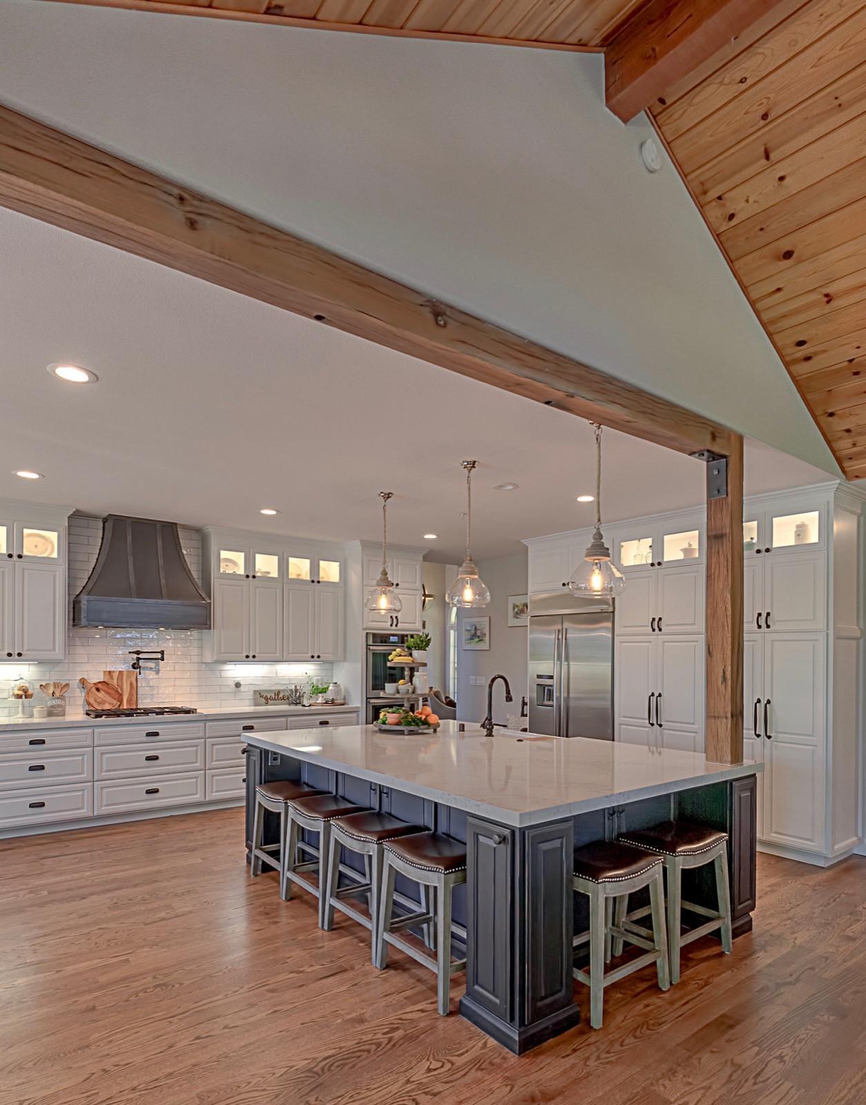 Contemporary Farmhouse Kitchen Remodel