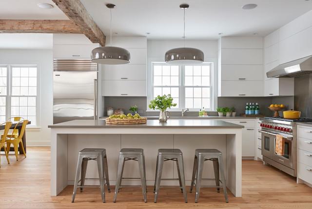 Contemporary Farmhouse Renovation contemporary-kitchen