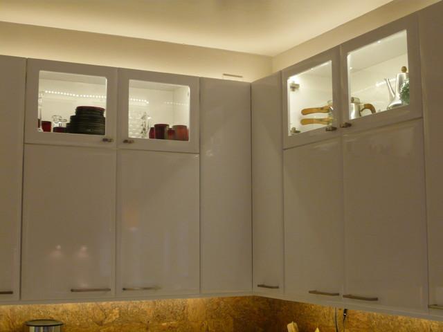 Contemporary Gloss White Kitchen Contemporary Kitchen Richmond By Reico Kitchen Bath