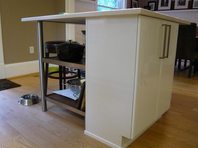 Contemporary Gloss White Kitchen contemporary-kitchen