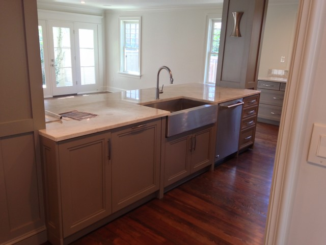 Contemporary Grey Cabinets New Orleans