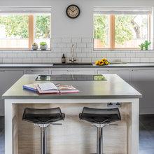 Contemporary Grey Industrial Kitchen