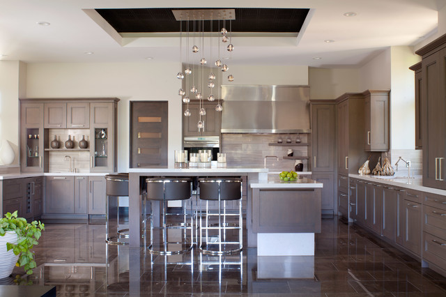 Contemporary Haven Contemporary Kitchen Denver By Ashley Campbell Interior Design