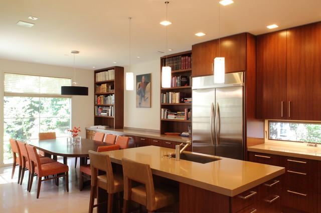 Contemporary Home, Central Marin contemporary-kitchen