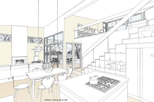 Contemporary House 2 contemporary-kitchen