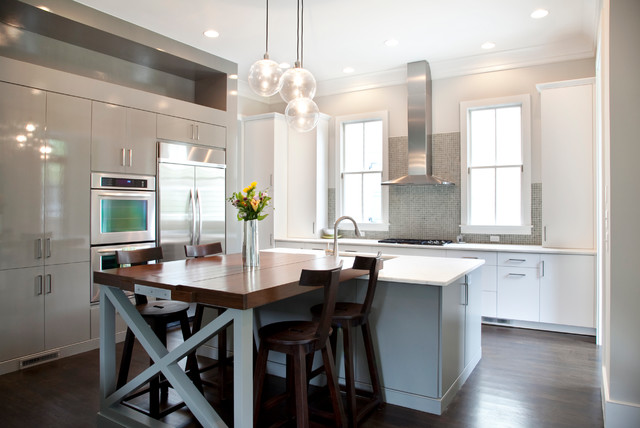 Contemporary I'on House contemporary-kitchen