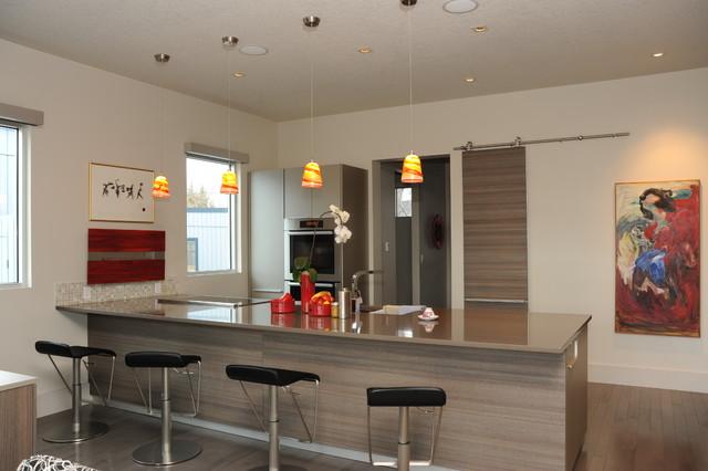 Contemporary In Canada Contemporary Kitchen Calgary By Weber Design Group Inc