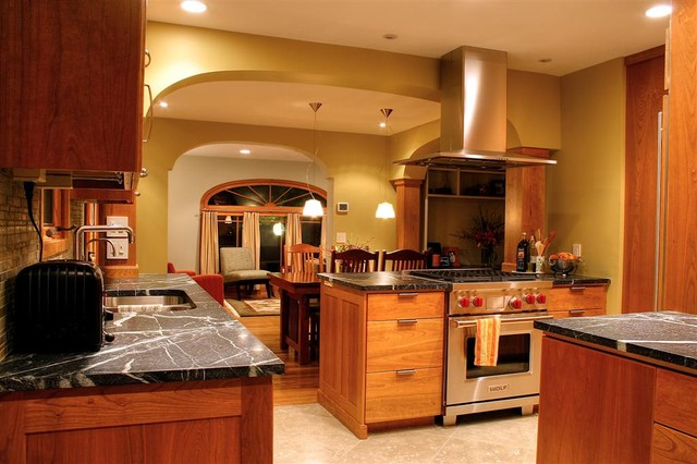 Modern Craftsman Kitchen - traditional - kitchen - salt lake city
