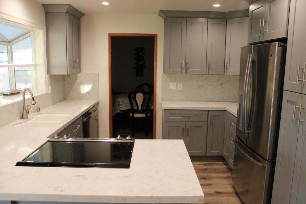 Contemporary Kichen Electic Bathroom San Gabriel Eclectic Kitchen Los Angeles By American Home Improvement Inc