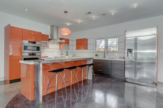 Bethesda Md Residence Contemporary Kitchen Denver