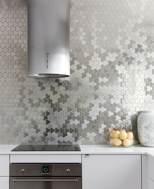 alloy metal tiles sydney kitchen contemporary