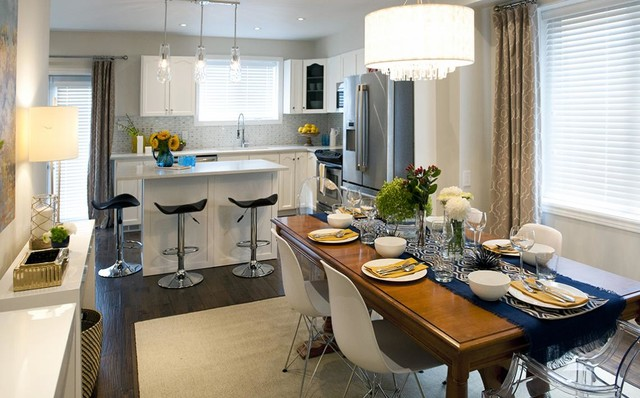 Contemporary Kitchen As Seen On Buying And Selling With The Property  Brothers Contemporary Kitchen