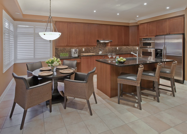 Port Credit Townhome contemporary-kitchen