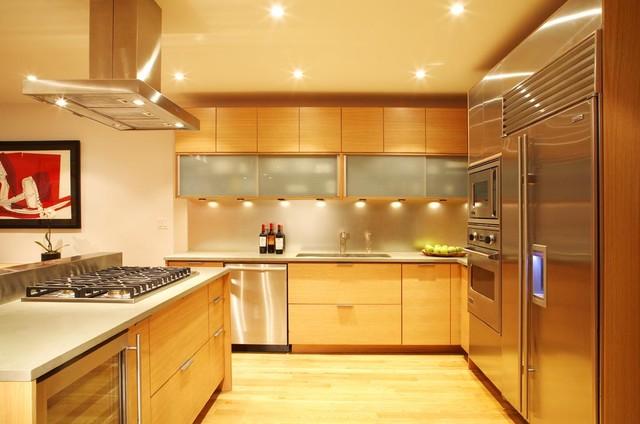 Westside Duplex contemporary-kitchen