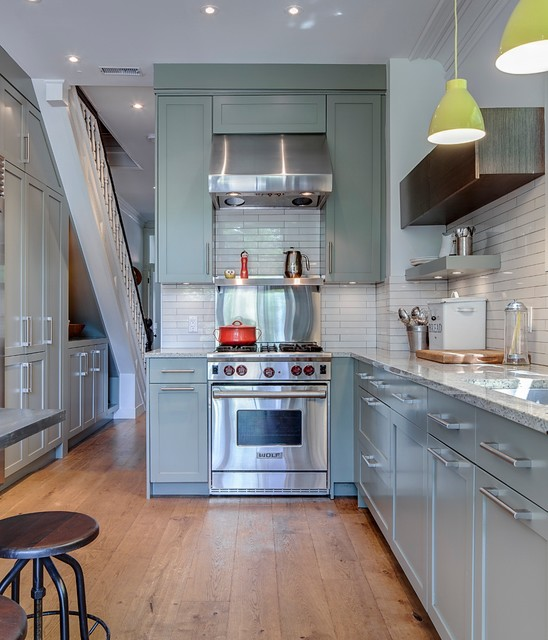 Cabbagetown Contemporary Kitchen Toronto By Beauparlant Design Inc