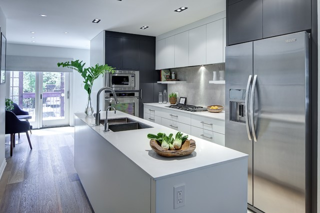 Alcina Ave Contemporary Kitchen Toronto By Beauparlant Design Inc