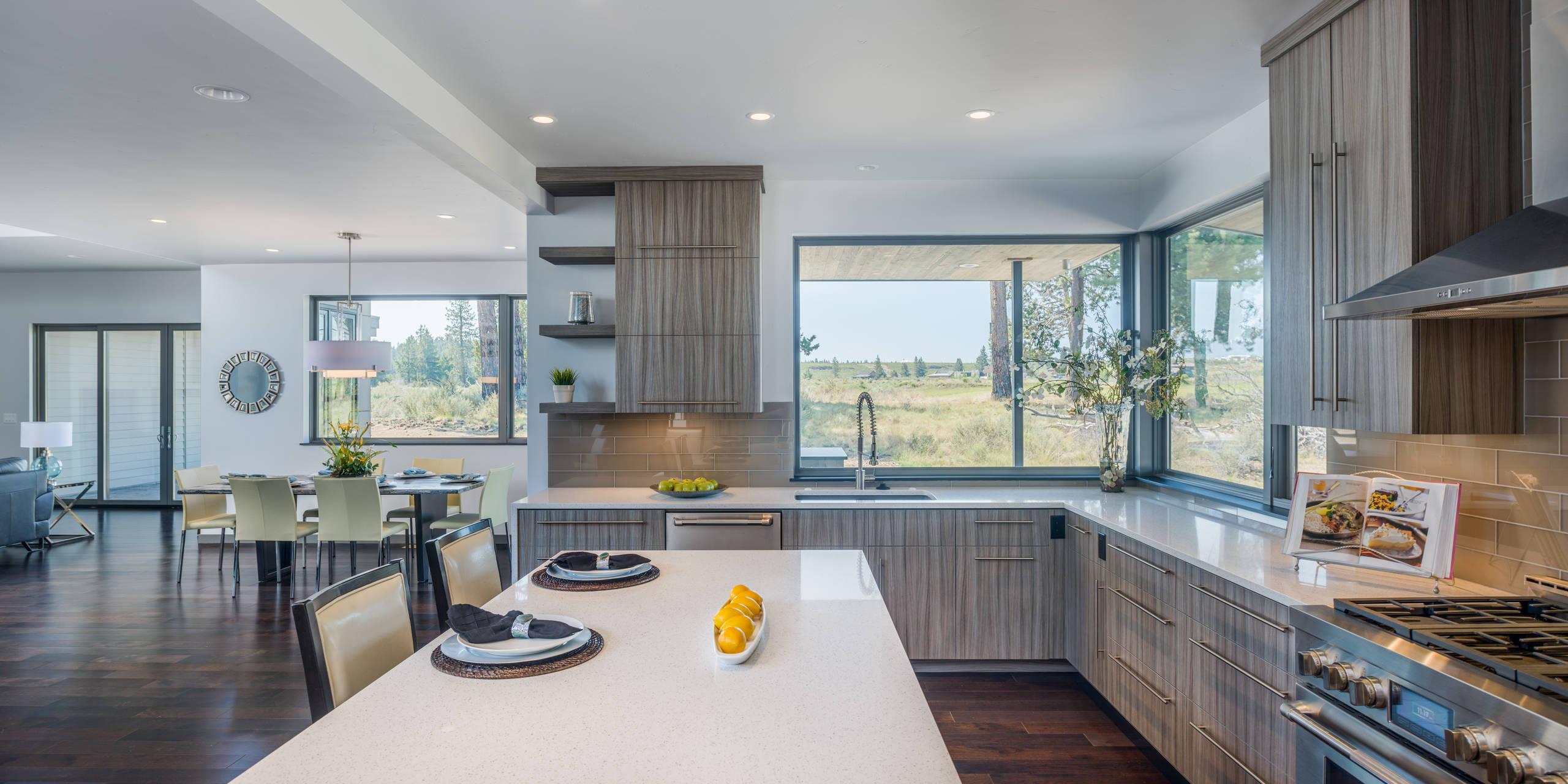 Corner Window Kitchen Houzz